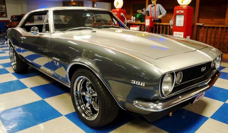 1967 Chevrolet Camaro Big Block 454 – Two Tone Silver / Slate full