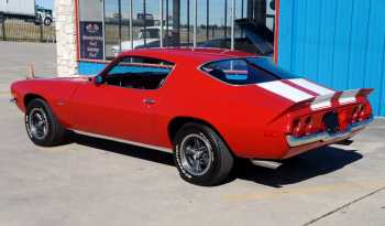 1973 Chevrolet Camaro Z28 – Medium Red / Antique White full