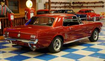 1966 Ford Mustang Coupe – Burgundy Metallic full