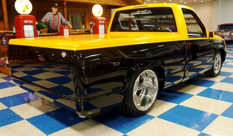 "1990 Chevrolet Custom Show-Truck AKA ""Cadiklysm"" – Black / Lemon Yellow full"