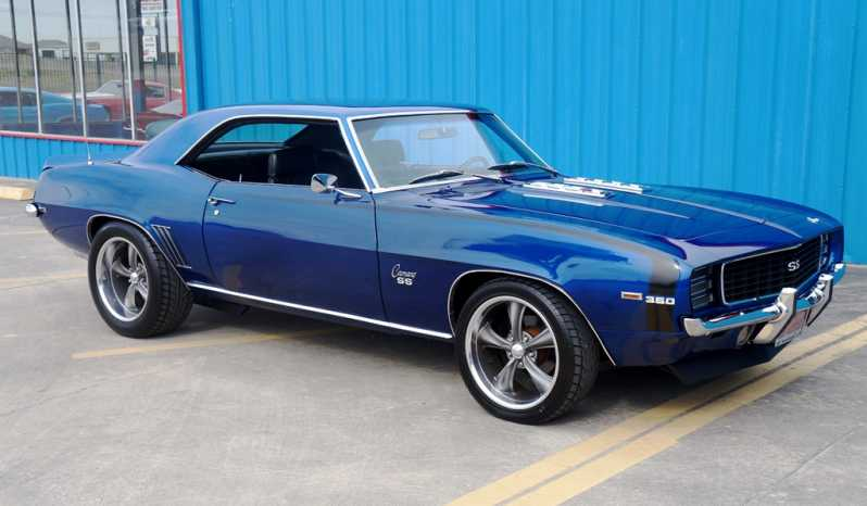 1969 Chevrolet Camaro – Blue / Black full