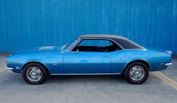 1968 Chevrolet Camaro – LeMans Blue / Black full