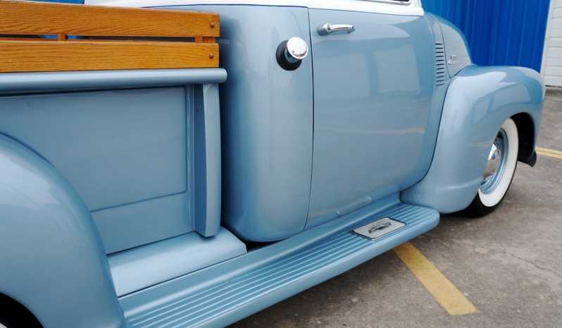 1954 Chevrolet 3100 Pickup 5 Window – Baby Blue / White Pearl full