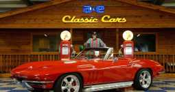 1966 Chevrolet Corvette Convertible Resto Mod LS7 – Red / White