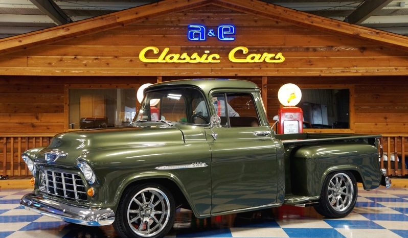 1955 Chevrolet 3100 Big Window Pickup Olive Green A Amp E