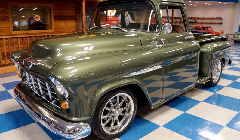 1955 Chevrolet 3100 Big Window Pickup – Olive Green full