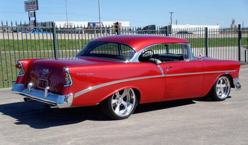 1956 Chevrolet 210 502 Resto Mod – Burgundy Metallic full