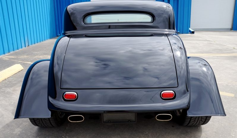 """1933 Ford Coupe """"Factory Five"""" Resto Mod 5.0L – Black full"""
