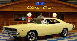 1968 Dodge Charger – Yellow / Black