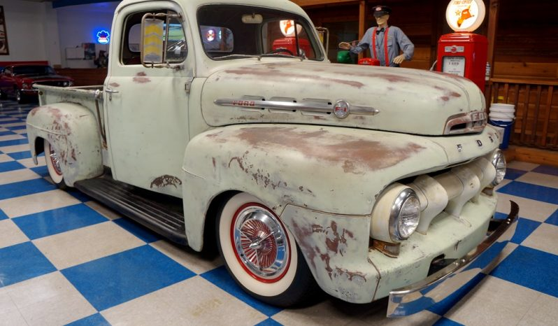 1952 Ford F1 Pickup – Sea Island Green Patina full