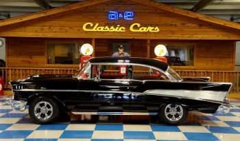 1957 Chevrolet Bel Air – Onyx Black full