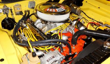 1973 Plymouth Cuda – Lemon Twist / Black full
