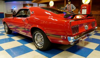 1969 Ford Mustang Mach 1 Super Cobra Jet – Candy Apple Red / Black full