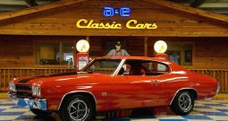 1970 Chevrolet Chevelle SS 396 – Cranberry Red / Black