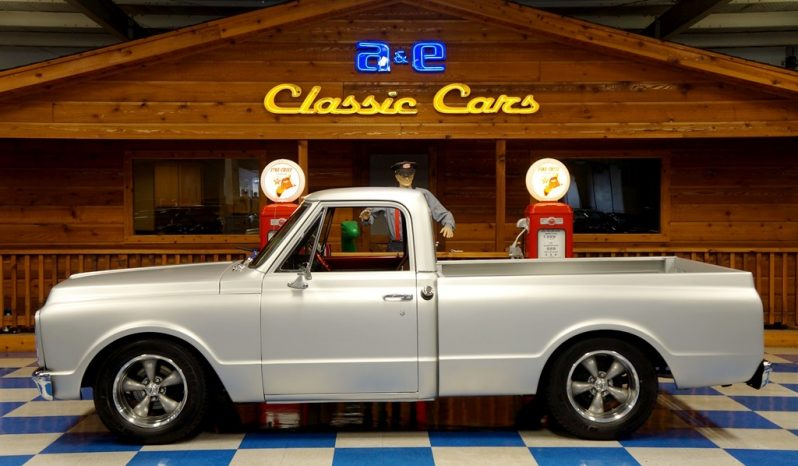 1971 Chevrolet C10 Pickup – Flat Silver full