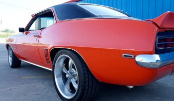 1969 Chevrolet Camaro 396 – Hugger Orange / Black full