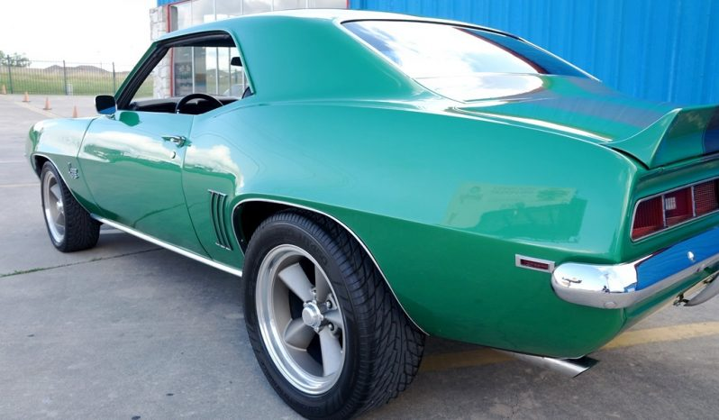 1969 Chevrolet Camaro – Green Metallic / Meteor Gray full
