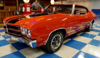 1970 Chevrolet Chevelle SS 396 – Cranberry Red / Black full