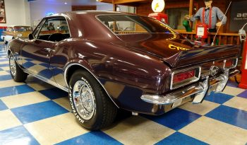 1967 Chevrolet Camaro – Royal Plum / White full