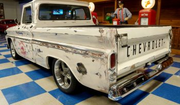 "1966 Chevrolet C10 Pickup – ""Patina"" White full"