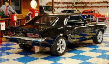1969 Chevrolet Camaro Big Block – Black / White full