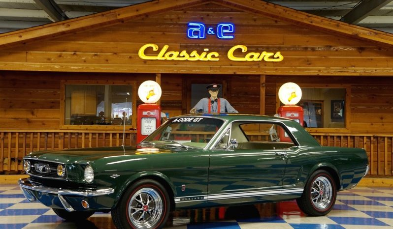 1966 Ford Mustang Gt Coupe One Owner Ivy Green A E Classic Cars