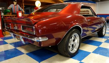 1967 Chevrolet Camaro – Burgundy Metallic / Deep Red Metallic full