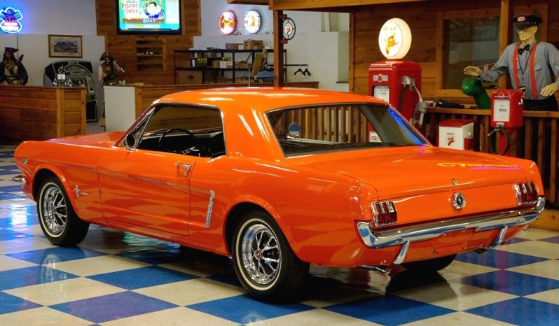 "1965 Ford Mustang ""K Code HiPo"" Coupe – Poppy Red – A&E"