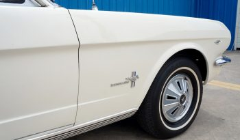 1966 Ford Mustang Coupe – Wimbledon White full