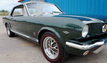 1966 Ford Mustang GT Coupe ONE OWNER – Ivy Green full