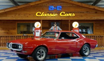 1968 Pontiac Firebird – Solar Red