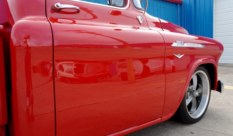 1956 Chevrolet 3100 Pickup Big Window – Red full