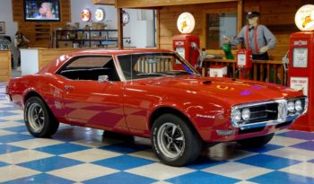 1968 Pontiac Firebird – Solar Red full