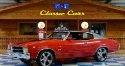 1971 Chevrolet Chevelle SS 350 w/ Build Sheet – Cranberry Red / Black