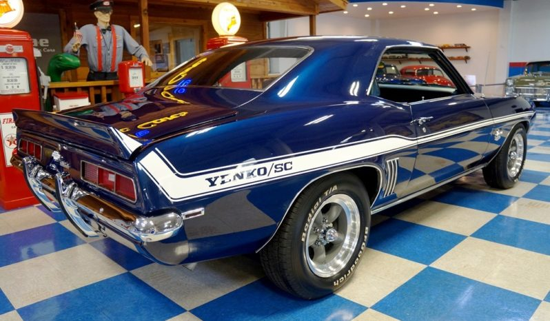 "1969 Chevrolet Camaro Yenko ""Tribute"" – Deep Blue / White full"