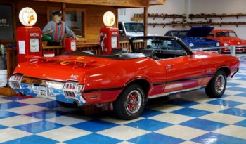 "1972 Oldsmobile 442 Convertible ""Tribute"" – Red / Black full"