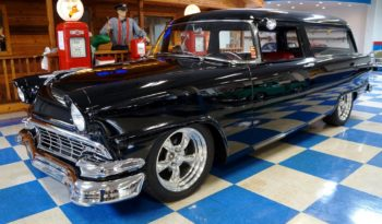 1956 Ford Ranch Wagon Resto Mod – Black full