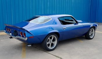 1972 Chevrolet Camaro – Kinetic Blue / White full