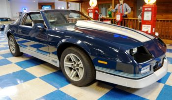 1985 Chevrolet Camaro Z28  T-Top – Dark Blue / Gray full