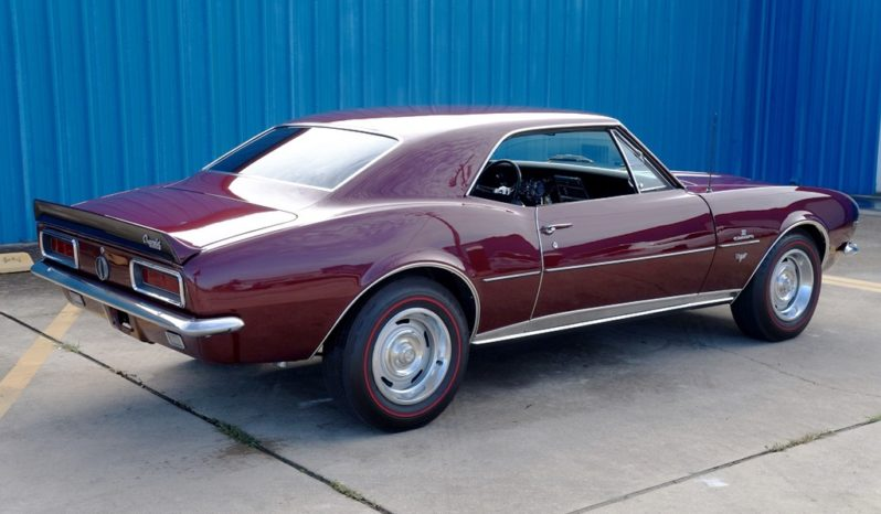 1967 Chevrolet Camaro – Maroon / Black full