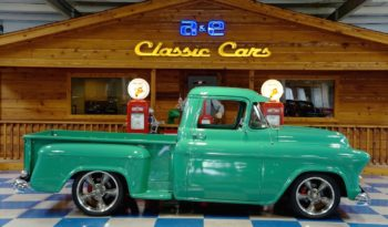 1955 Chevrolet Pickup Resto Mod Vortec – Teal full