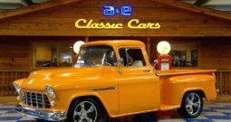1956 Chevrolet 3100 Big Window Pickup – Lamborghini Arancio Borealis Pearl