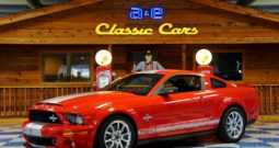 2008 Ford Mustang Shelby GT500KR Anniversary LOW MILES – Colorado Red / Silver