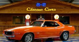 1969 Chevrolet Camaro 454 cui Big Block – Orange / White