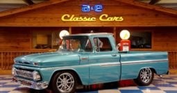 1962 Chevrolet C10 Pickup Big Window – Aquamarine / Gray