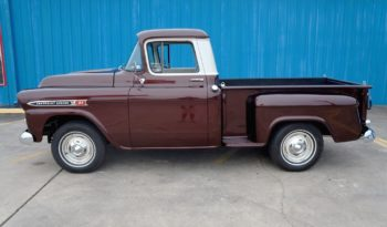 1959 Chevrolet Apache 3100 Stepside Pickup – Burgundy Metallic / Ivory full