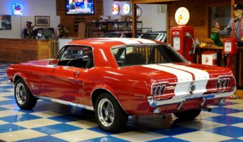 1968 Ford Mustang Coupe – Red / White full