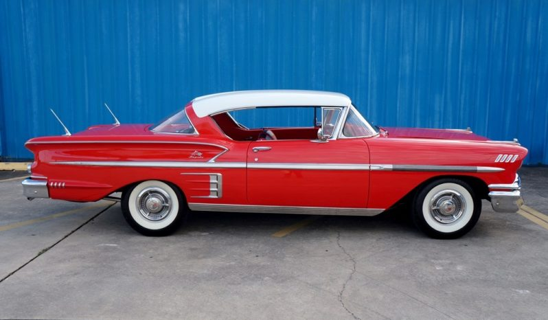1958 Chevrolet Impala – Rio Red / Arctic White full