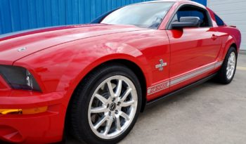2008 Ford Mustang Shelby GT500KR Anniversary LOW MILES – Colorado Red / Silver full