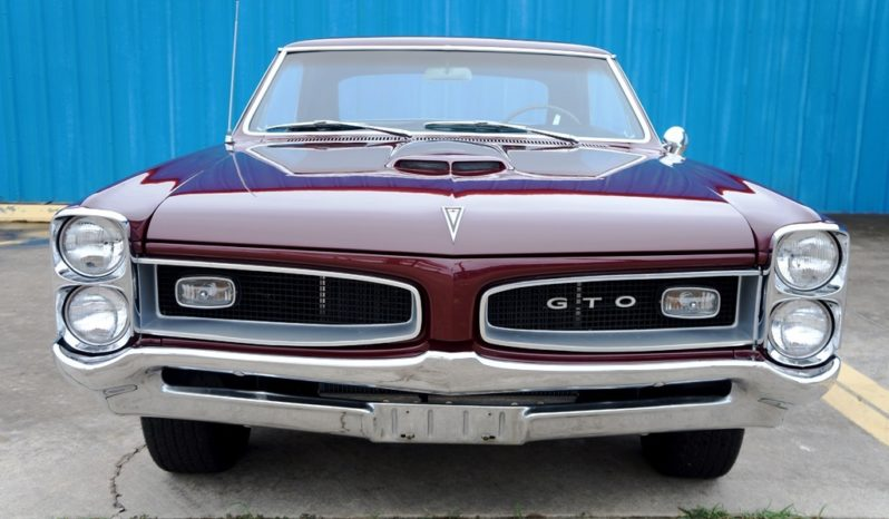 1966 Pontiac GTO – Burgundy full